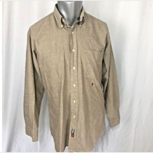 Tommy Hilfiger Original Oxford Beige Button Down
